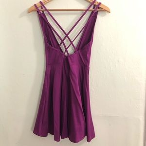 Nasty Gal Dresses - Nasty Gal Plunging Skater Dress